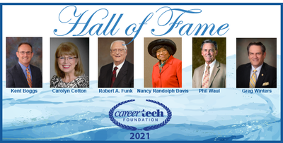 CareerTech Hall of Fame Inductees 2021