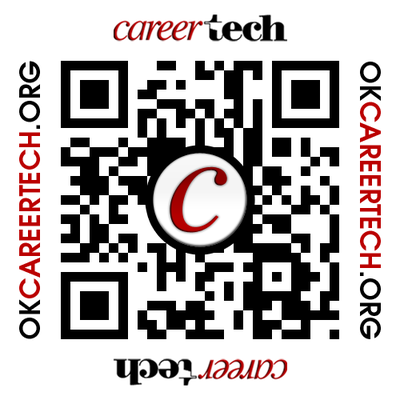 CareerTech Website QR Code Label
