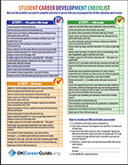CCD - Guidance and Counseling - StudentCareerDevelopmentChecklistfront.png