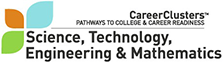 STEM - Science, Technology, Engineering, and Mathematics Career Cluster Image