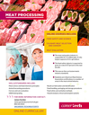 Image of the meat processing online courses flier.