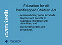 Education and Training - paraprofessional-slide