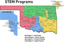 STEM - Contact Us - FY21 Regional Map