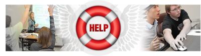help section banner
