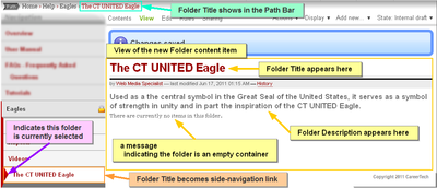 ct united add folder ct united eagle saved crop