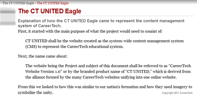 ct united add new page view logged out