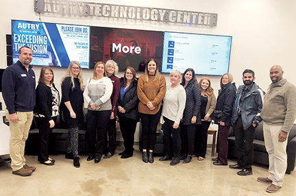 ODCTE's Engage group toured Autry Tech in Enid.