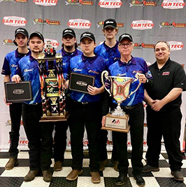EOC Tech's engine build team placed first in the National Performing Racing Industry competition.