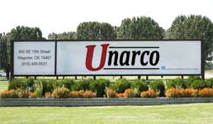 Unarco sign