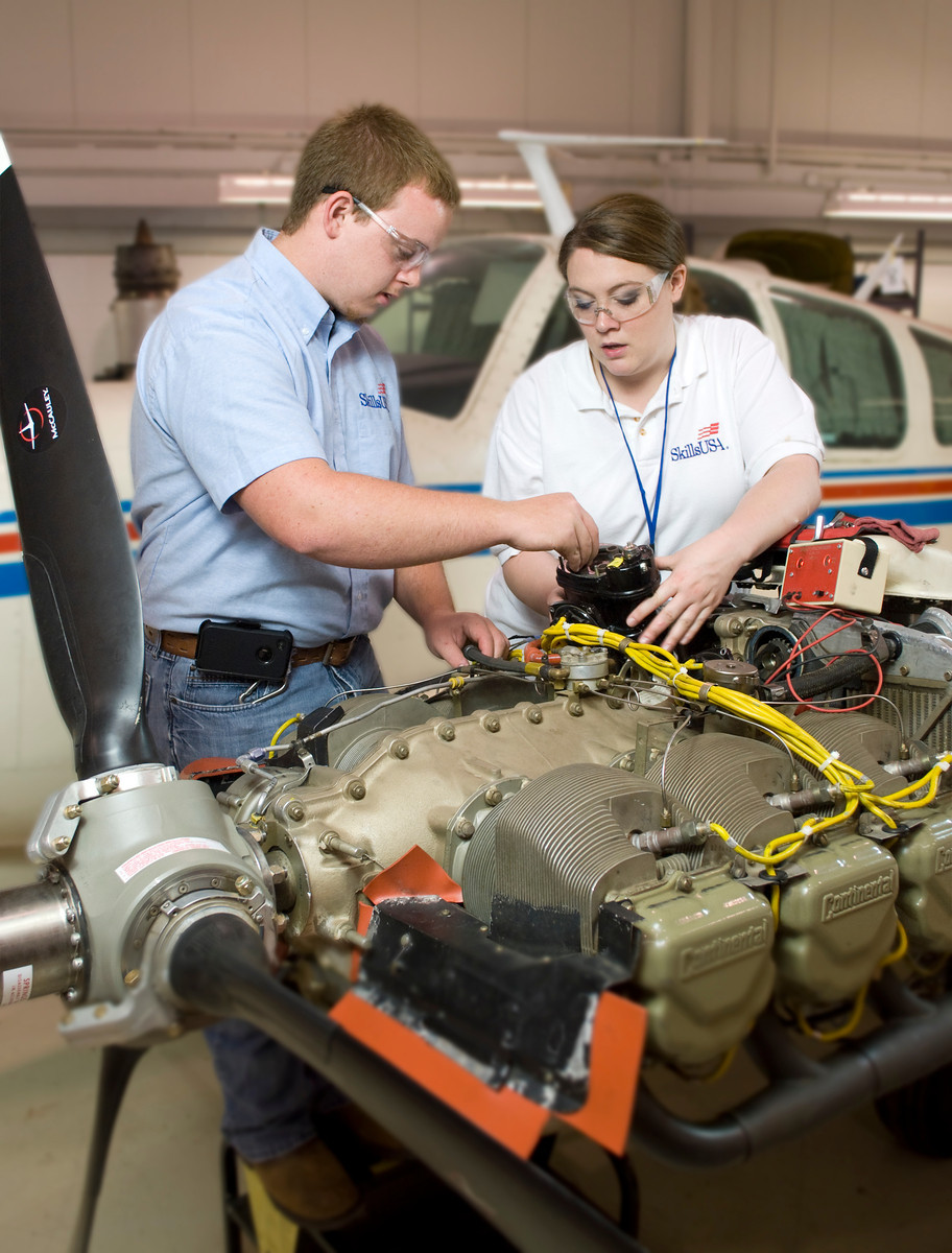 Aerospace Training Takes Wing at CareerTech