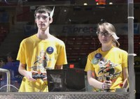 Students 'Rumbled' at FIRST Robotics