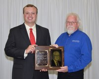 Tom Thomas receives Oklahoma CareerTech's top award