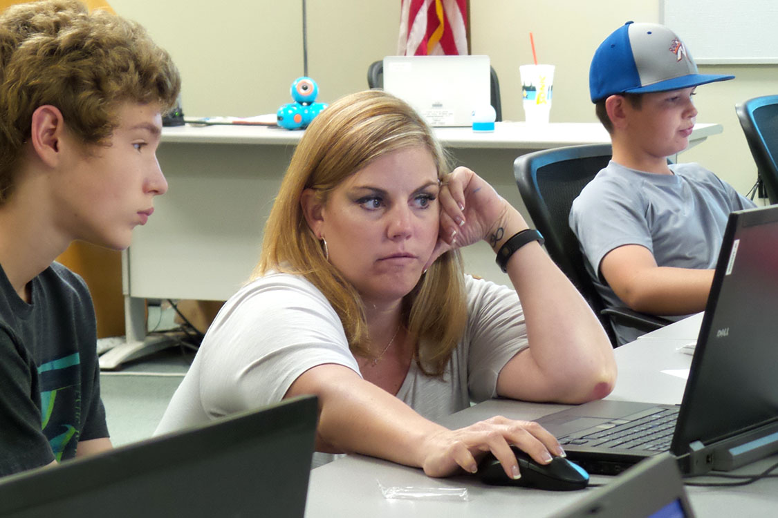 CareerTech Code Camp introduces students to coding and more