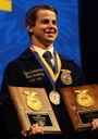 OSU ag econ student follows in brother's footsteps with national FFA award
