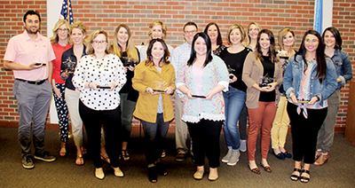 Sixteen Oklahoma technology center student services employees recently graduated from the Oklahoma Department of CareerTech's Student Services Endorsement Program.