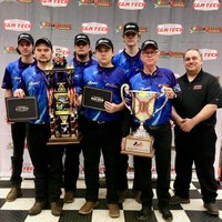 EOC Tech engine build team members place first in national competition