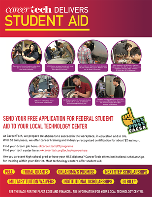Student Aid - CareerTech Delivers Student Aid - Flier