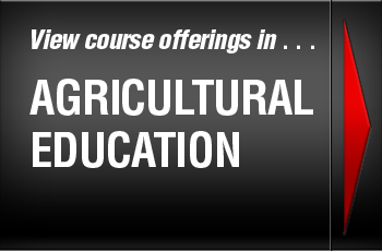 View course offerings in . . . Agricultural Education
