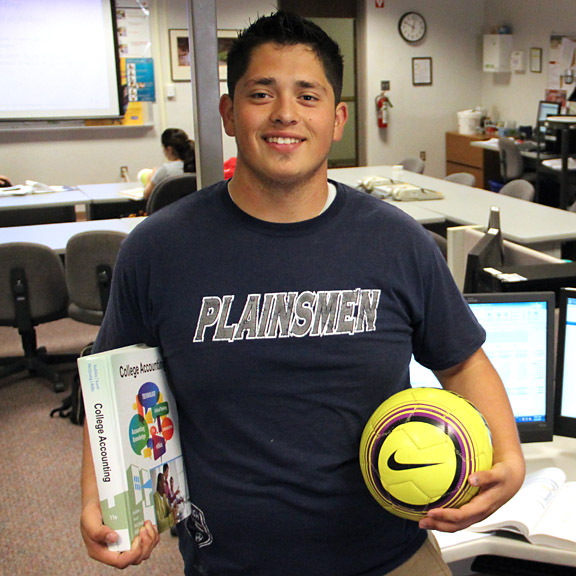 Juan Alvarado, CareerTech Athlete