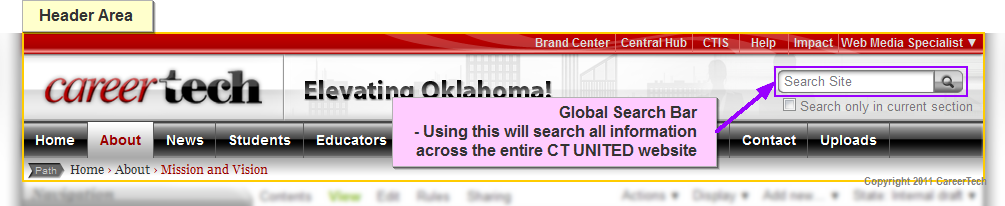 ct united header global search bar crop