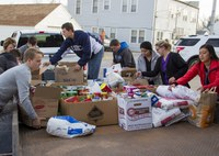 Autry Students Help Our Daily Bread Food Pantry