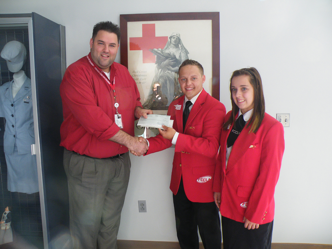 Oklahoma FCCLA 'Tweets' Challenge, Supports Red Cross