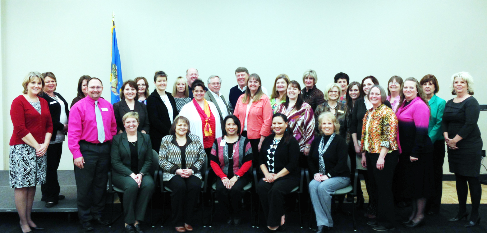 CareerTech Financial Services Staff Connect During Training