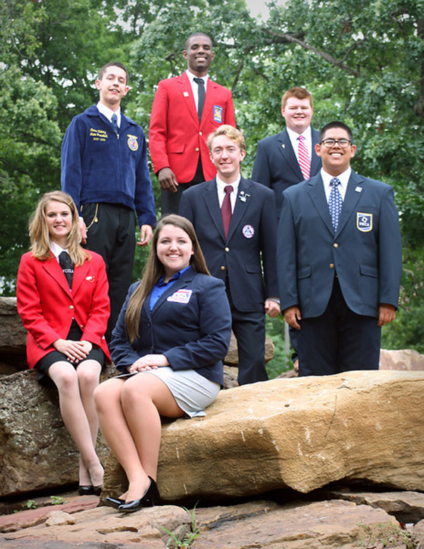 CareerTech Student Leaders Attend State Conferences